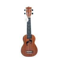 Wholesale guitar hawaii for sale - Group buy Aiersi brand Inch student hawaii ukelele factory price mahogany Soprano guitar Ukulele