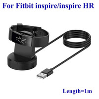 Wholesale charging stations free shipping resale online - For Fitbit inspire smart Bracelet inspire HR smart Watch Replacement USB Charging Base Station Dock Charger Cable High Qua Free DHL Shipping