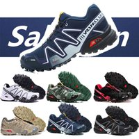 Wholesale sport fences for sale - Group buy Mens Salomon Speed cross CS Sport Outdoor Shoes Breathable Zapatillas Hombre Mujer Male Fencing Sneaker Speed Cross size EUR