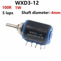 precisão do potenciômetro venda por atacado-WXD3-12 Wirewound Precision Multiturn Potentiometer 100R 200R 220R 470R