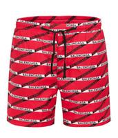 plaj pantolon desen toptan satış-Sexy2019 Desen Karakteristik Bayrak Baskı Sandy Beach Pantolon Serin Zaman Şort Kolay Olacak Code-8633