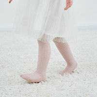 UK Autumn Children Girls Pantyhose Cotton Knited Toddlers Baby Long Tights