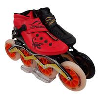 patines en línea para hombres al por mayor-pasendi zapatos de patinaje de velocidad en línea Hombres profesionales mujeres patines en línea Patins Roller Skate Adultos Speed Skate