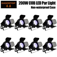 Stage Lighting Effect Gigertop Tp-p68 50w Mini Led Cob Par Light Glass Lens 60 Degree Beam Angle Fan Cooling Casting Aluminum Housing Tyanshine Cob Various Styles
