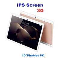 Wholesale tablets 3g dual core online - 10X DHL High quality inch MTK6580 IPS capacitive touch screen dual sim G tablet phone pc tablet inch android