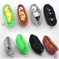 Wholesale peas doll resale online - Lovely Cartoon Totoro Banana peas Plush Toy Mini Animal Plant Keychain Pendant Doll Toys Decoration Gift for Children