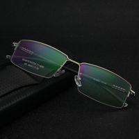 Wholesale multicolor spectacles frames for sale - Group buy Business Eyeglass Frames for Men Half Rim Glasses Frame Spectacle Frames Optical Frames YS