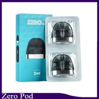 pacote de peças venda por atacado-Vaporesso Zero Pod Cartucho de 2 ml 2 pcs pacote de Material Principal PCTG para Zero Starter Kit E Cigarro Pod Peça De Reposição 0266264