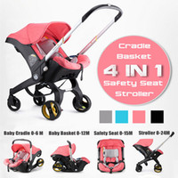 Wholesale portable baby carriages for sale - Group buy Infant IN Baby Stroller Carriage Basket Portable Travel System Pram with Safety Seat for Years baby