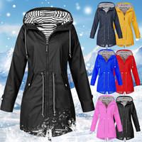 Wholesale polyester sport jackets for women resale online – Outdoor Jacket For Women Waterproof Jacket Female Autumn Winter Zipper Coat Hiking Climbing Cycling Sport Clothing