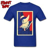 anime kılıç sanat çevrimiçi sıcak toptan satış-T Gömlek Sword Art Online Erkekler T-Shirt Excalibur FOOL Propaganda Komik Tişörtleri 2019 Sıcak Satış Anime Poster Tshirt Pamuk Mavi Tees