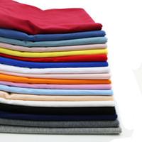 leggings de lycra finos al por mayor-40S camiseta delgada Mallas ajustadas Odell Tejido de lycra spandex de algodón elástico alto estirado