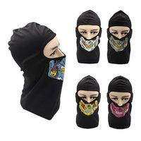 Wholesale masks personalities resale online - Balaclava Personality Zombie Full Face Mask Winter Warm Riding Sports Windproof Dustproof Sunscreen Motorcycle Mask