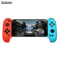 беспроводной геймпад для пк оптовых-Новый Saitake 7007X Беспроводной Bluetooth игровой контроллер геймпад джойстик для Xiaomi Huawei Android Phone PC