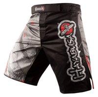 mma dövüş şortları toptan satış-Toptan Satış - Toptan-Erkek MMA Fight Şortlar Hayabusa Shiai Fight Giyim erkek Şort 11 Stilleri Boyutları M.L.XL, XXL, XXXL