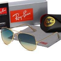 leopard eyewear großhandel-Top Qualität Neue Mode Sonnenbrillen Für Mann Frau Erika Eyewear Designer Marke Sonnenbrille Matt Leopard Gradient UV400 Linsen Box