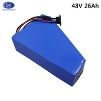 Wholesale Lithium Battery v s v Ah Triangle battery for bafang w Electric Bicycle engine with A charger EU USA no tax