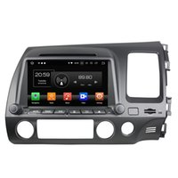 Wholesale honda civic cars dvd resale online - 4GB RAM GB ROM Android HD din quot Car DVD GPS for Honda Civic Right Radio Bluetooth USB Mirror link