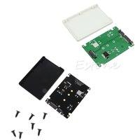 mini sata ssd adaptör toptan satış-7 MM kalınlık Muhafaza M.2 NGFF SSD - 2.5
