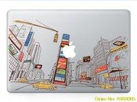 pegatinas de vinilo para macbook pro 13 al por mayor-Etiqueta Pegatina de color para el MacBook Pro ordenador portátil Vinilo Decorativo Pegatinas Mac Aire adapta a los 13 y 15 pulgadas portátil pegatinas