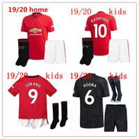 Wholesale united new jersey resale online - NEW manchester Soccer Jersey KIDS Kit UNITED Jerseys POGBA LUKAKU RASHFORD ALEXIS football shirt boys set uniforms