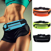 Wholesale neoprene running belt for sale - Group buy Portable Unisex Waterproof Sport Waist Bag Neoprene Fanny Pack Running Belt Bag for Men Women Phone Pouch Casual Bum