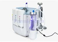 microdermoabrasión de chorro de piel al por mayor-3 en 1 Hydrafacial Diamond Microdermabrasion Machine Hydra Facial Dermabrasion Hydro Aqua Clean Oxygen Jet Peel Spray Rejuvenecimiento de la piel