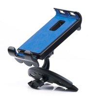 ingrosso smartphone blu-Porta tablet CD universale per auto CD rosso blu nero ABS + scatola di colori in silicone per iPhone, Samsung e altri smartphone