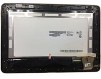 macbook ordinateur portable chine achat en gros de-Écran tactile en verre Digitizer Assembly + Écran LCD à LED B101EAN01.6 avec cadre pour BLACK ASUS Tranformer Pad TF103CG K018 Tablet