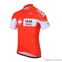 Wholesale cycling clothing spain for sale - Group buy New IAM team cycling jersey ropa ciclismo hombre bicycle clothing quick dry short sleeves bike shirt mtb maillot mountain Racing spain B2H5