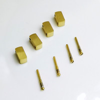 agulhas de parafuso de aço venda por atacado-Boa qualidade 4 Conector De Aço 4 Parafuso 2 Link para AP Audemars Piguet 15400 15300 Pulseira De Borracha De Couro