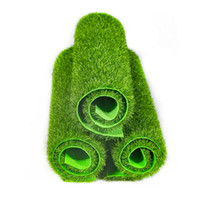 Wholesale landscape turf grass resale online - 100pcs Simulation Moss Turf Lawn Green Plant DIY Artificial Grass Board Wedding Mini Garden Micro Landscape Decor Accessories
