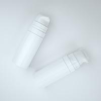 безвоздушная косметика оптовых-Бесплатная доставка 5 мл 10 мл Белый мини-Безвоздушный Лосьон Насос Бутылка, образец и бутылка для испытаний, Безвоздушный Контейнер, Косметическая Упаковка