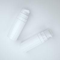 kostenlose musterpakete großhandel-Freies Verschiffen 5ml 10ml weiße mini luftlose Lotions-Pumpen-Flasche, Probe und Testflasche, luftloser Behälter, kosmetische Verpackung