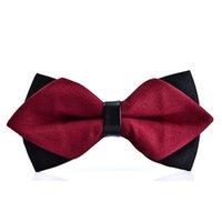 pajarita de navidad a cuadros al por mayor-Moda mariposa Bowties Novios Hombres Colorido A Cuadros Gravat gravata Hombre Matrimonio Boda Corbatas de cumpleaños regalo de Navidad