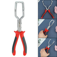 Wholesale fuel line hose for sale - Group buy 1Pc Fuel Line Petrol Clip Pipe Hose Release Disconnect Removal Pliers Tool New Red Color cm
