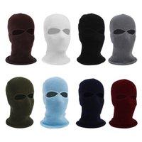 sombrero cubre la cara al por mayor-Ciclismo Máscara facial Sombrero de esquí Paseo Correr Bufanda Deportes al aire libre Máscara de pesca Cubierta Gorro Gorro de invierno Sombreros de punto al por mayor