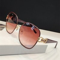 Wholesale eyewear frames butterfly style online - The newest popular fashion sunglasses S Butterfly metal frame simple atmosphere ladies style glasses top quality uv400 protection eyewear