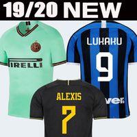 futbol forması milan toptan satış-LUKAKU ALEXIS LAUTARO SKRINIAR Inter 2019 2020 Milan futbol forması GODIN BARELLA PERISIC NAINGGOLAN formaları 19 20 futbol üst takımı gömlek