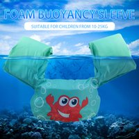 ingrosso vecchi giocattoli gonfiabili-2-8Year Old Inflatable Child Swim Vest Cartoon Life Vest Giacche Bambini Piscina Anello galleggiante Anello da braccio per nuoto Giocattolo di addestramento di sicurezza