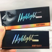 Wholesale New Beauty Glazed Palette Highlighter Shimmer Eyeshadow Powder Colors Palette Original Brand Makeup Palettes
