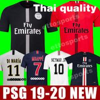 campeones kits de liga al por mayor-2018 2019 PSG jordan third maillot MBAPPE soccer jersey CAVANI VERRATTI top thailand 18 19 paris football shirt KIMPEMBE Camiseta de futbol