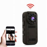 sıcak gece videosu toptan satış-Sıcak Satış L16 WiFi Kablosuz Mini Kamera HD 1080 P Kamera Hareket Algılama ve Gece Görüş Mini DV Dijital Video Kam