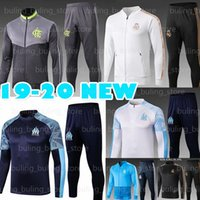Wholesale HAZARD Jersey Real Madrid Olympique De Marseille BENEDETTO training tracksuit flamengo GABRIEL B soccer training suit jacket OM
