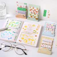 Wholesale lovely stationery resale online - stationery Set Memo Pads Sticky Notes Lovely Summer Fresh Notepad Diary Scrapbooking Stickers Office School Stationery