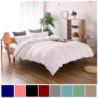 Wholesale super king sized bedding online - Cotton Bedding Sets Pillowcase Home Hotel Bedding Super Soft Wedding Gift White Duvet Cover Twin Queen King Size pc No Sheet