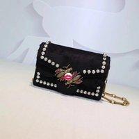 mode leder handtaschen europa großhandel-Europa und die Vereinigten Staaten klassische Mode trendige Tarnung Leder Damenhandtasche