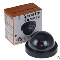 Wholesale fake dome cameras for sale - Group buy Surveillance Dummy Ir Led Dome Camera fake Camera Simulated Security video Signal Generator Santa Security Supplies LYW1506