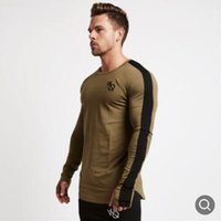 Wholesale mens compression tops resale online - Casual Long Sleeve Sport Shirt Men Quick Dry Mens Running T shirt Fitness Tights Gym Training t Shirt Compression Top Rashgard