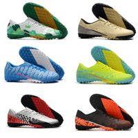 Wholesale cr7 turfs for sale - Group buy Cheap Men Mercurial Vapors XIII Pro TF hot Turf Indoor CR7 Cristiano Ronaldo NJR Neymar Soccer Football Shoes
